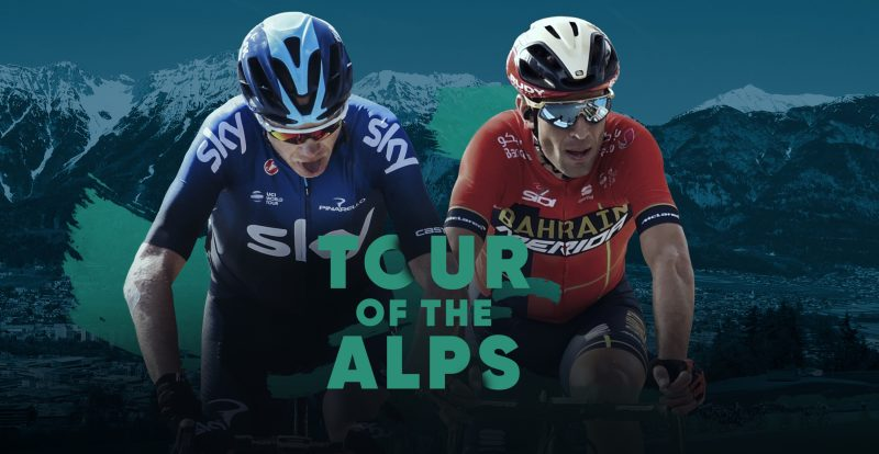Chris Froome challenges Vincenzo Nibali at the Tour of the Alps