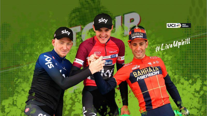 """[:it] Il Tour of the Alps 2020 fa della salita uno stile di vita [:en] 2020 Tour of the Alps is ready to """"Live Uphill"""" [:de] Klettern wird zum Lebensstil: Das ist die Tour of the Alps 2020"""