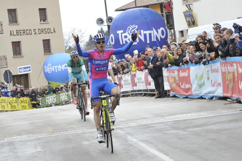 Giro del Trentino Melinda: Pure adrenaline in Val dei Mòcheni