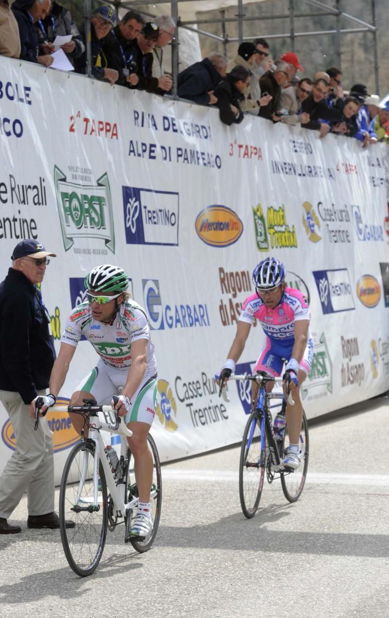 33° GIRO DEL TRENTINO 2 TAPPA RIVA DEL GARDA PAMPEAGO DI LUCA foto Remo Mosna