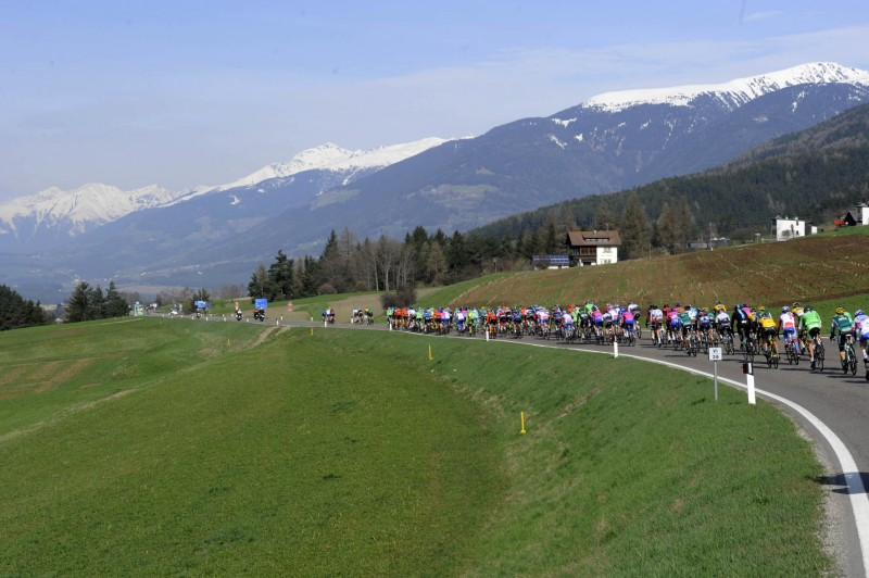 A new uphill finish in Austria for Giro del Trentino Melinda