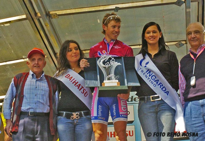 31° Giro del Trentino 4° tappa Toscolano - Arco Km 164,600 Arc