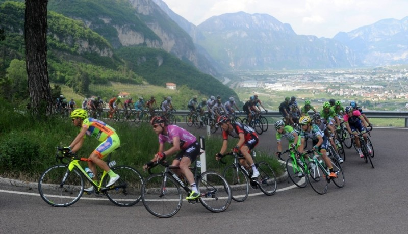 Giro del Trentino Melinda on tv in over 50 Countries