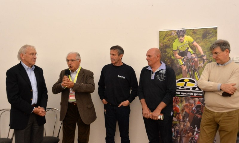 "40th Giro del Trentino Melinda - Eve's press conference and ""GSG Moments"""