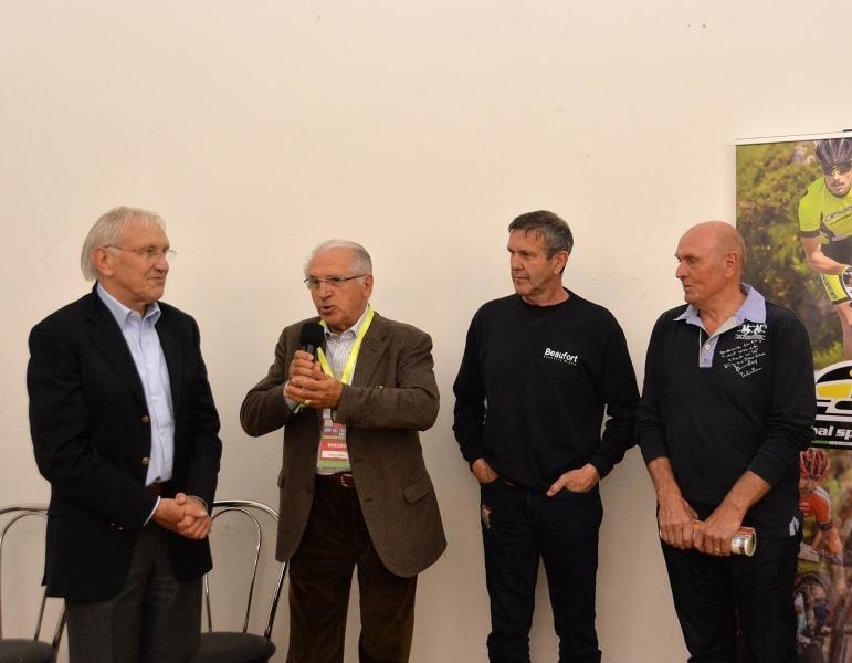 De Vlaeminck e De Bosscher a Giessegi Moments: incontro con due grandi del passato al #GdTM