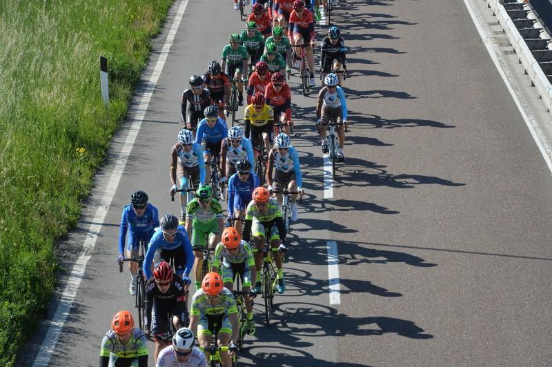 40° giro del Trentino Melinda 2 tappa Arco ANRAS, 220km, vince  Landa Meana Mikel, © foto Daniele  Mosna