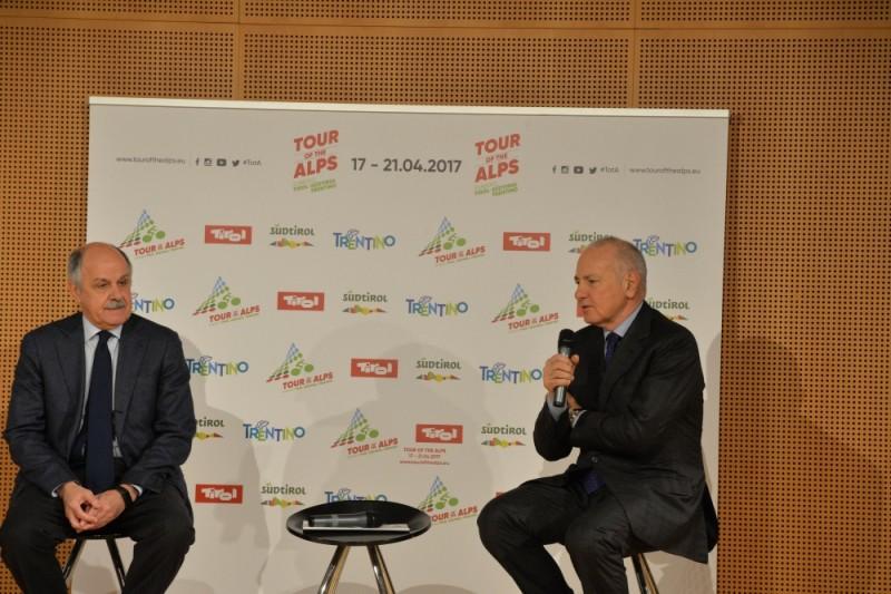 Presentazione Ufficiale Tour of the Alps 2017