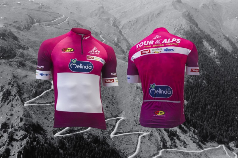 Northwave signs Tour of the Alps leaders' jerseys