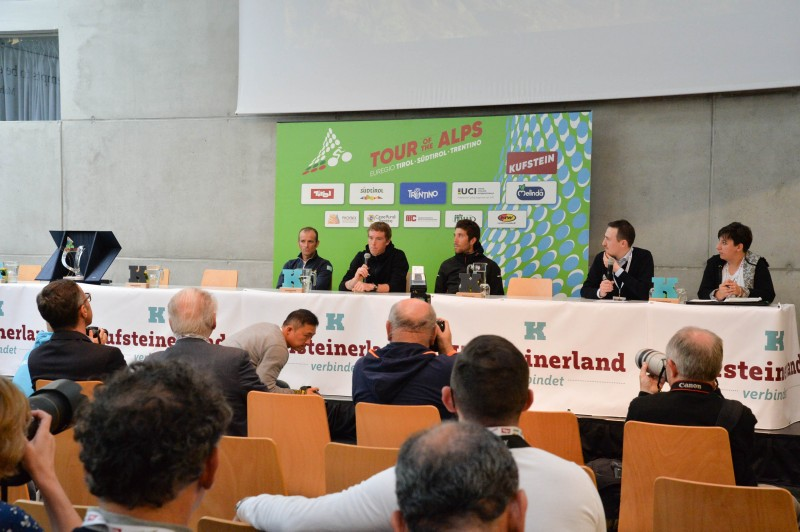 Tour of the Alps 2017 - Eve's Press Conference