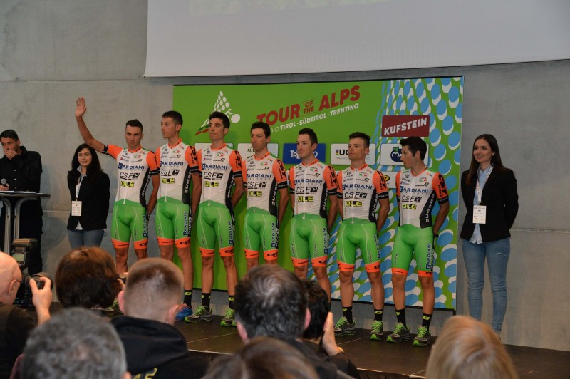 Tour of the Alps 2017  - Teams' Official Presentation