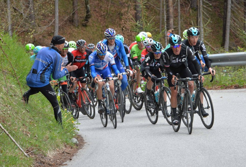 Tour of the Alps 2017 - Scarponi gewinnt die 1. Etappe