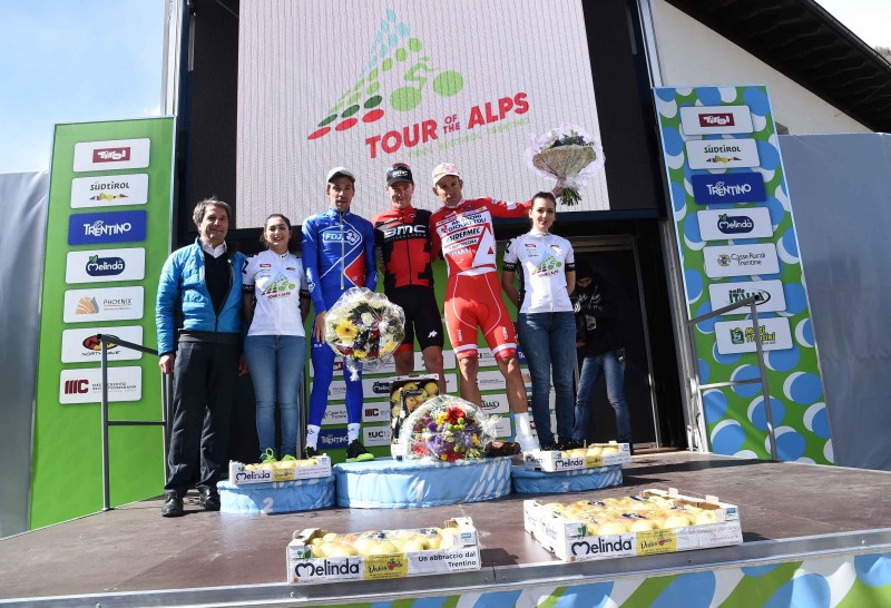Tour of the Alps 2017: Pinot new GC leader