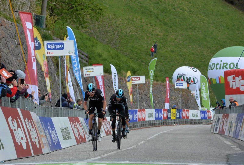 Tour of the Alps' stage 2: Team Sky makes the one-two