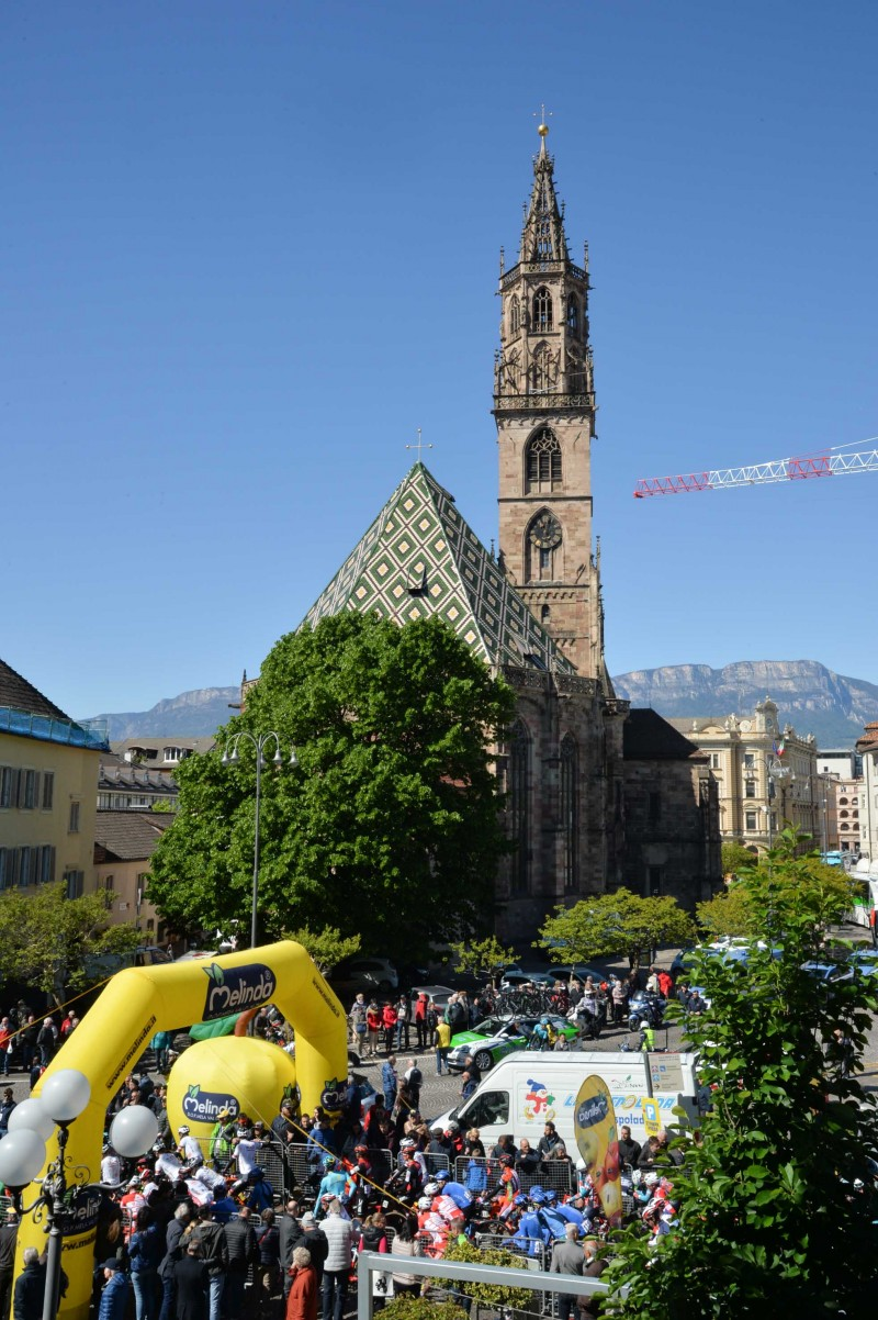 Bolzano welcomes Tour of the Alps' protagonists