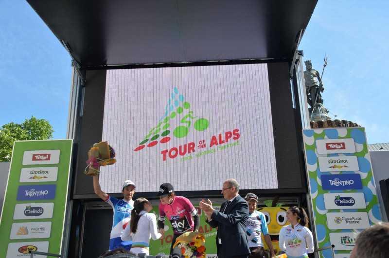 Geraint Thomas is the 2017 Tour of the Alps' winner