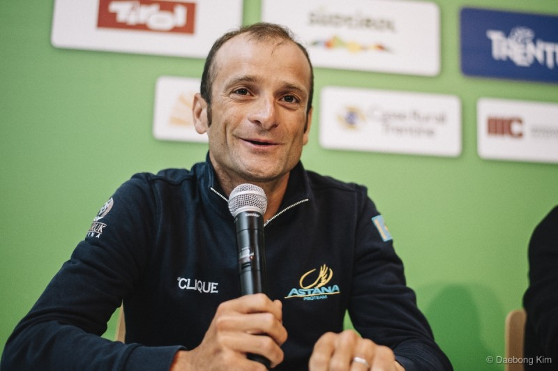 The Tour of the Alps remembers Michele Scarponi