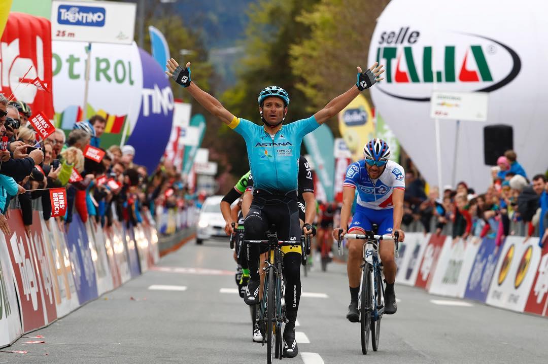 The courses for the 2018 UCI Road World Championships @innsbruck_tirol2018 have been revealed. The men's road race will run from to the same departure and arrival of 2017 Tour of the Alps stage 1. We will never forget who was the winner on that day<br /> <br /> Sono stati svelati i percorsi dei Mondiali @innsbruck_tirol2018. La prova in linea maschile si correrà da Kufstein a Innsbruck, le stesse località che hanno ospitato la partenza e l'arrivo della prima tappa del Tour of the Alps 2017. Non dimenticheremo mai chi vinse quel giorno