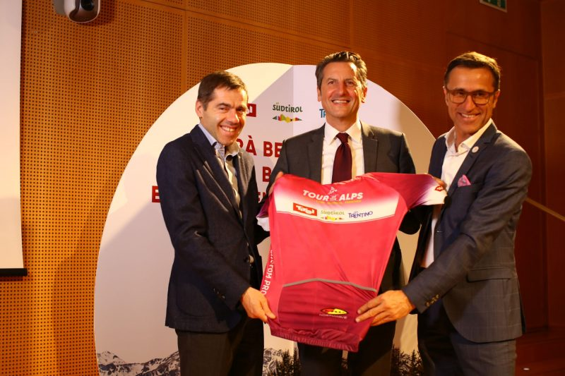 In Mailand wurde die Tour of the Alps 2018 vorgestellt