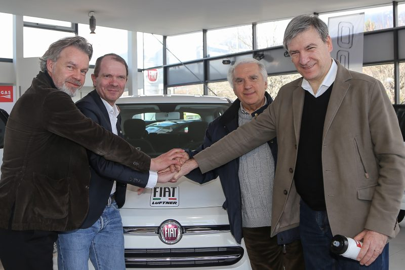 Tour of the Alps and FIAT Lüftner together in the name of ecology