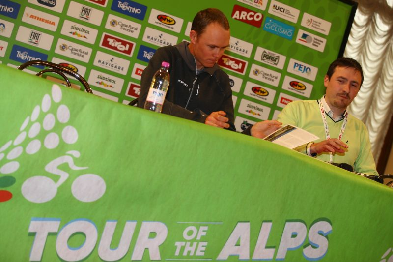 2018 Tour of the Alps - Eve's press conference