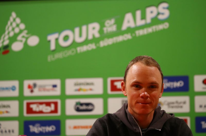 Tour of the Alps 2018 - Pre-Race Pressekonferentz