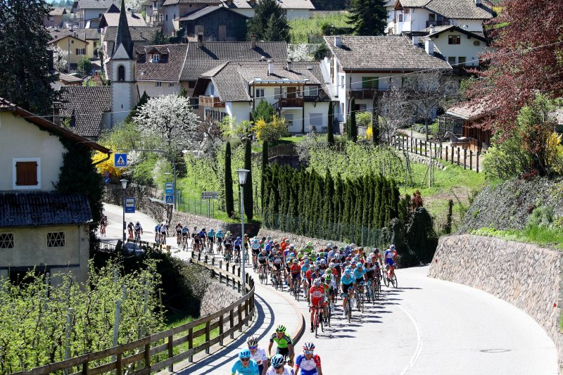 Tour of the Alps 2018 - O'Connor-Handstreich in Meran