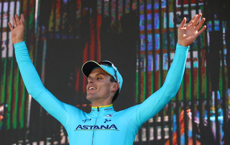 2018 Tour of the Alps - Astana, and it's three