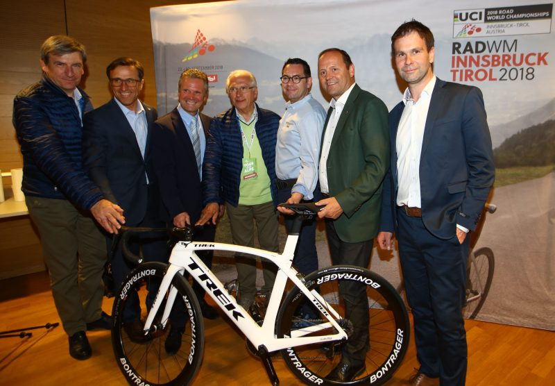 "In Rattenberg, the ""cycling kick-off"" of Innsbruck Worlds"
