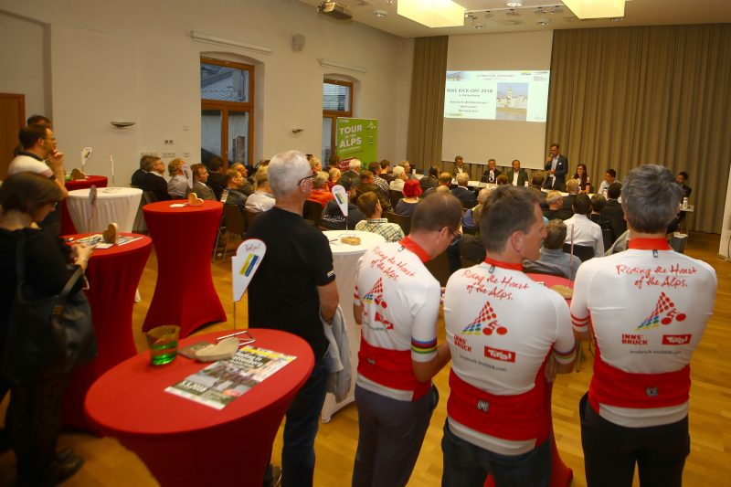 Tour of the Alps 2018 - Pressekonferenz in Rattenberg