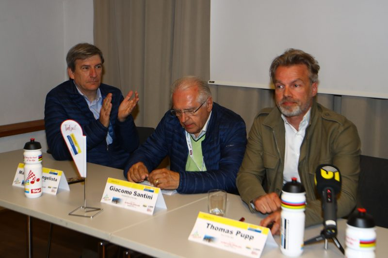 2018 Tour of the Alps - Rattenberg Press Conference