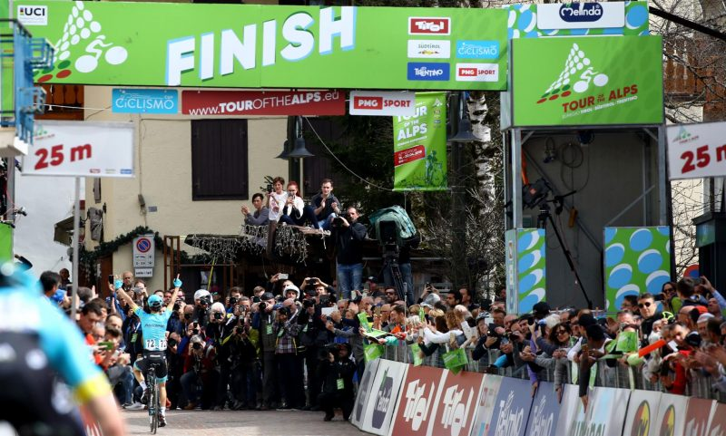 Tour of the Alps' figures a statement of global success