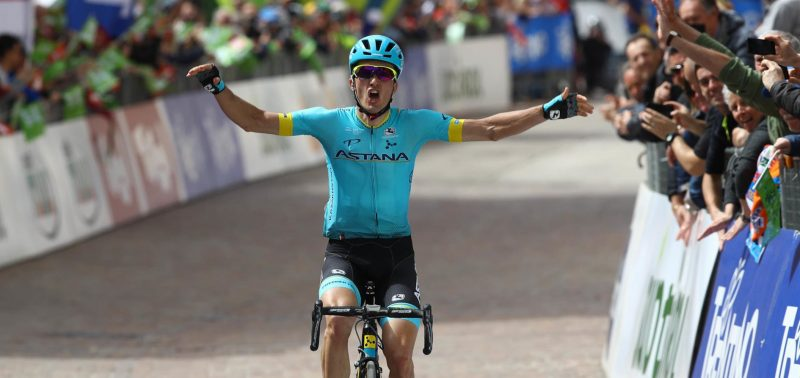 Serial-winner Astana Pro Team goes for glory at Tour of the Alps