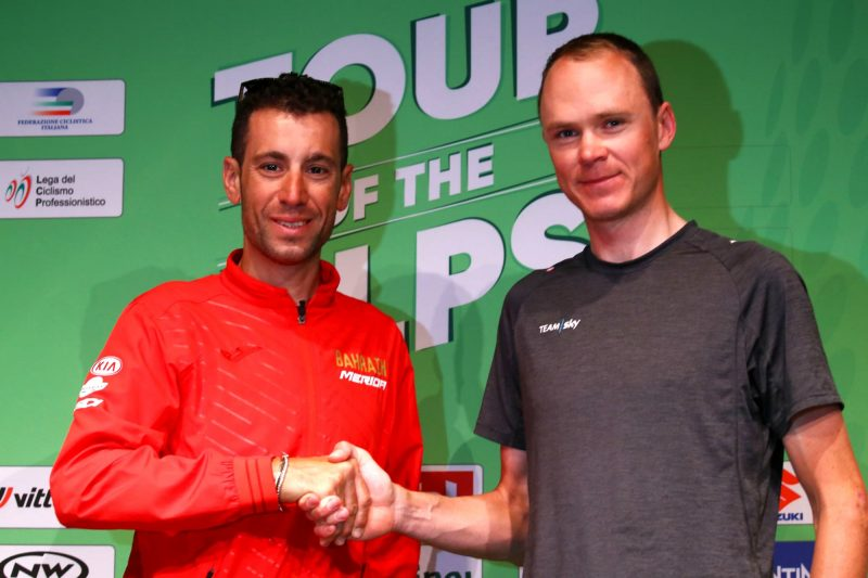 Nibali and Froome launch their Tour of the Alps bid