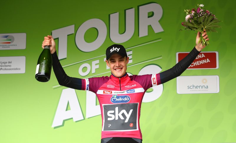 Team Sky keeps raking at Tour of the Alps: stage and lead for Sivakov