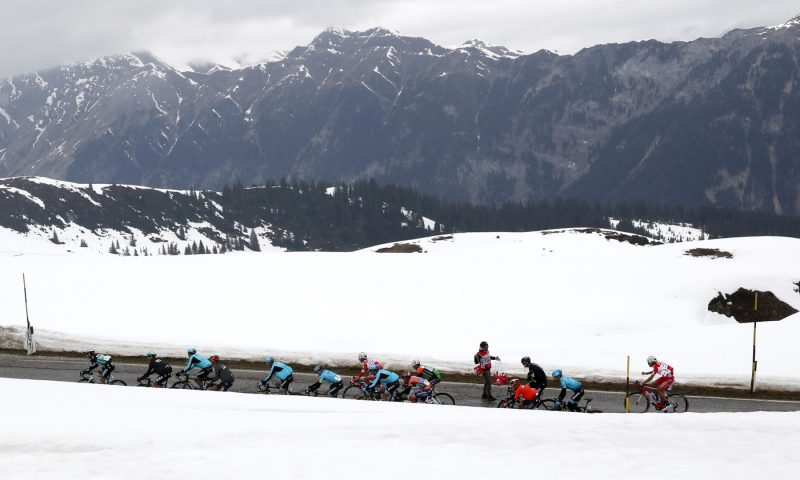 Tour of the Alpes 2019— 2 tappa Reith im Alpbachtal-Scena, 178,7 Km,  Scena, Italia, 23/04/2019.  photo:Pentaphoto.