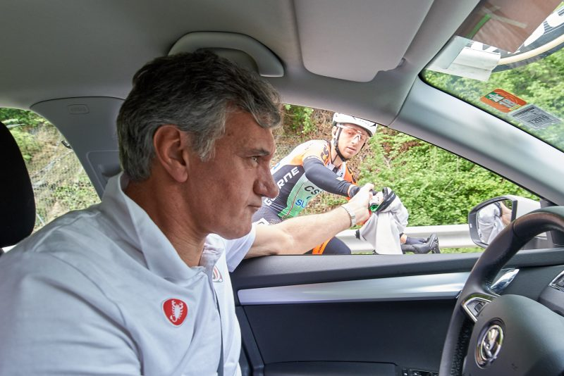 Tour of the Alps 2019: Eine Etappe aus der Sicht des Vittoria Service Course.