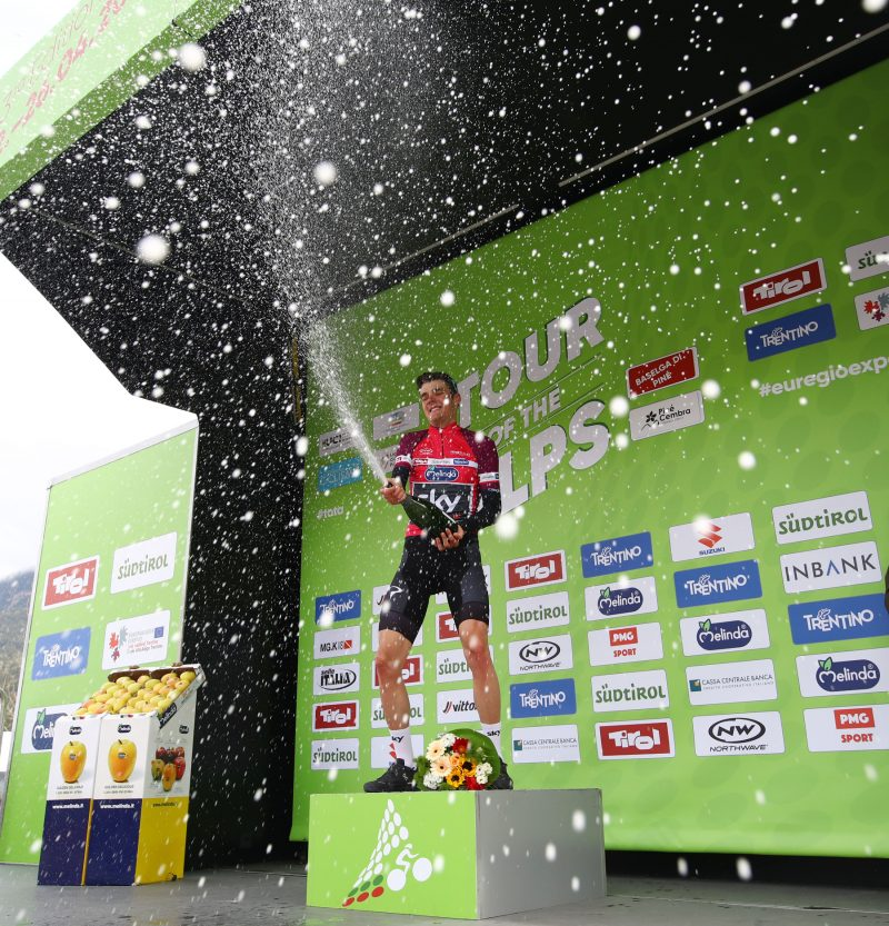 Tour of the Alps 2019— 3 tappa Salorno-Baselga di Pinè km 106,3, Baselga di Pinè, Pavel Sivakov (Pol). Italia, 24/04/2019.  photo:Pentaphoto/Alessandro Trovati.