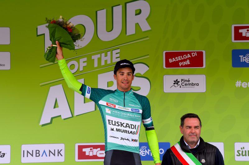 Tour of the Alps 2019— 3 tappa Salorno-Baselga di Pinè km 106,3,Sergio Samitier  Baselga di Pinè, Italia, 24/04/2019.  photo:Pentaphoto/Alessandro Trovati.