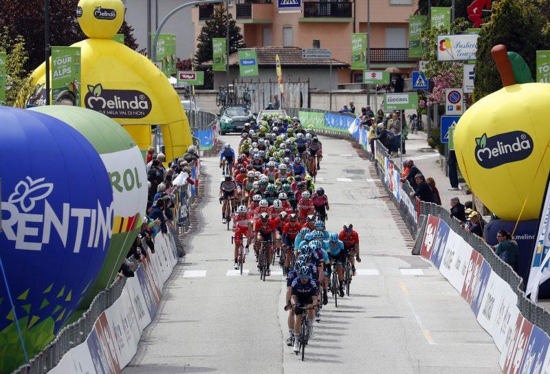 Tour of the Alpes 2019— 4 tappa Baselga di Pinè - Cles  km 133, Cles, Italia, 25/04/2019.  photo:Pentaphoto.