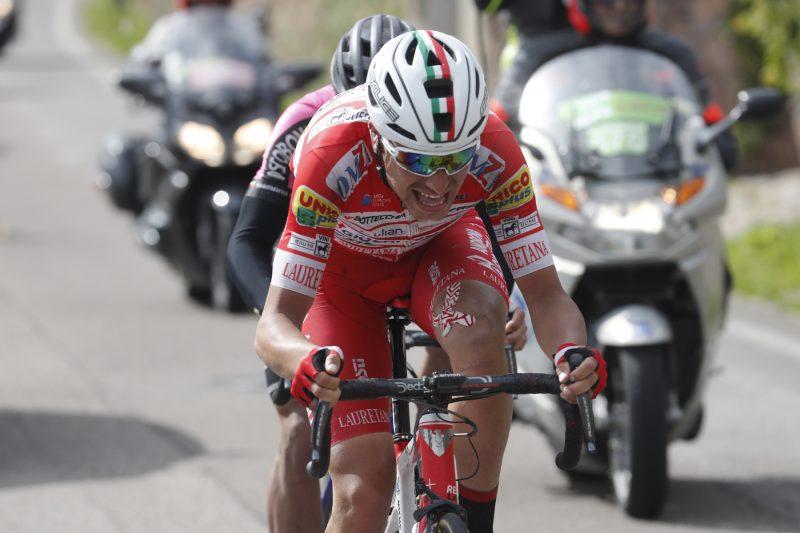 Tour of the Alps 2019— 5 tappa Caldaro Bolzano 147,8 Km. Fausto Masnada. Bolzano, Italia, 26/04/2019.  photo:Pentaphoto.