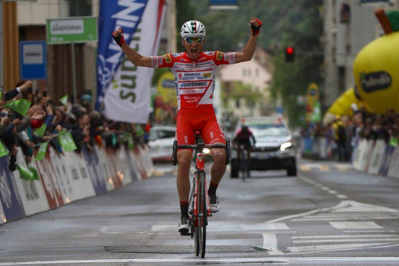 Tour of the Alps 2019— 5 tappa Caldaro Bolzano 147,8Km. Fausto Masnada   Bolzano, Italia, 26/04/2019.  photo:Pentaphoto/Alessndro Trovati.