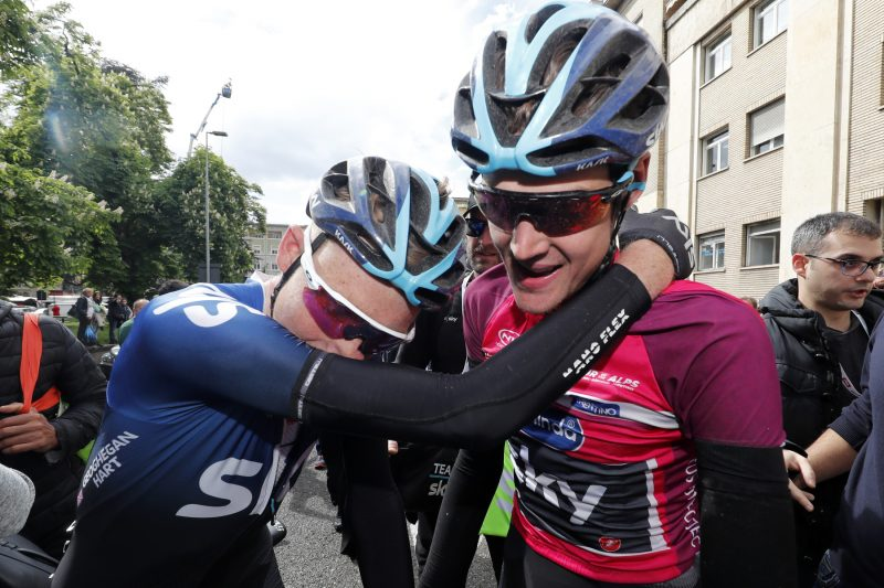Tour of the Alps 2019— 5 tappa Caldaro Bolzano 147,8 Km. SIVAKOV Pavel Sivakov vincitore  Bolzano, Italia, 26/04/2019.  photo:Pentaphoto.