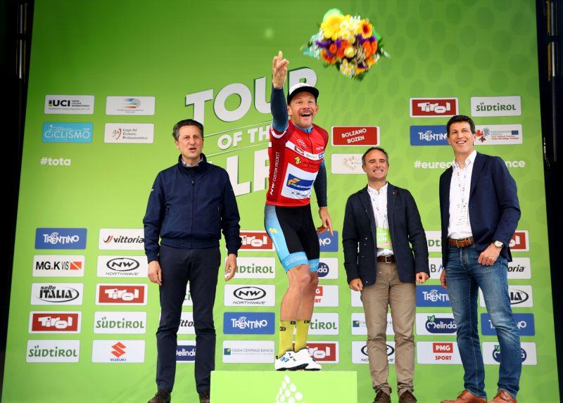 Tour of the Alps 2019— 5°tappa Caldaro-Bolzano km 147,8 Maximilian Kuen   Bolzano, Italia, 26/04/2019.  photo:Pentaphoto/Alessandro Trovati.