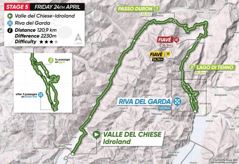 5ª Tappa: Valle del Chiese/Idroland - Riva del Garda