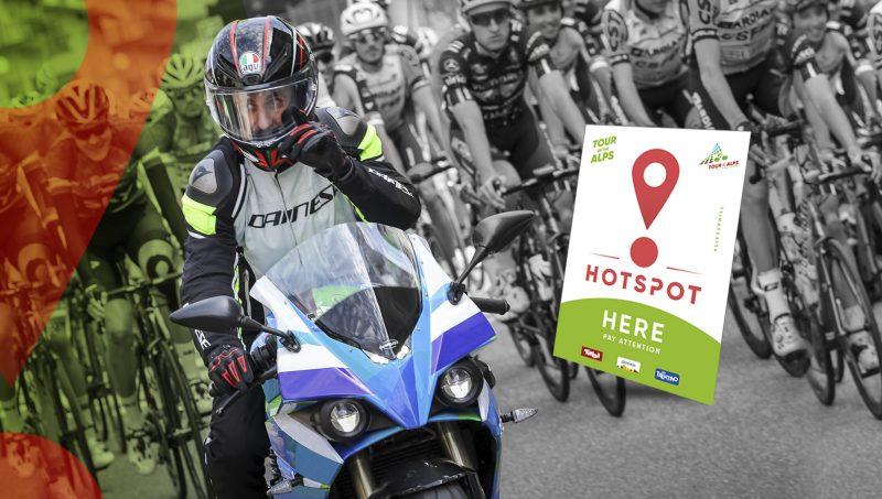 "[:it] Con gli 'hotspot' il Tour of the Alps aumenta la sicurezza in gara [:en] Tour of the Alps' hotspots to increase race safety[:de] ""Hotspots"" identifiziert: Die Tour of the Alps erhöht die Sicherheit der Fahrer"