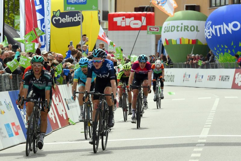 Melinda fa il giro del mondo con il Tour of the Alps