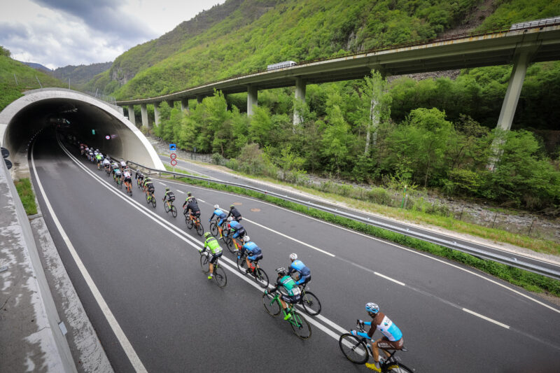 Tour of the Alps gets greener with A22 Brenner Motorway