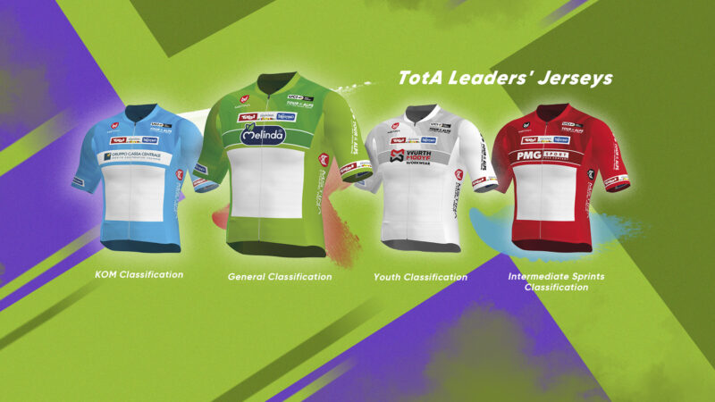 The Tour of the Alps leader's jersey turns to Green