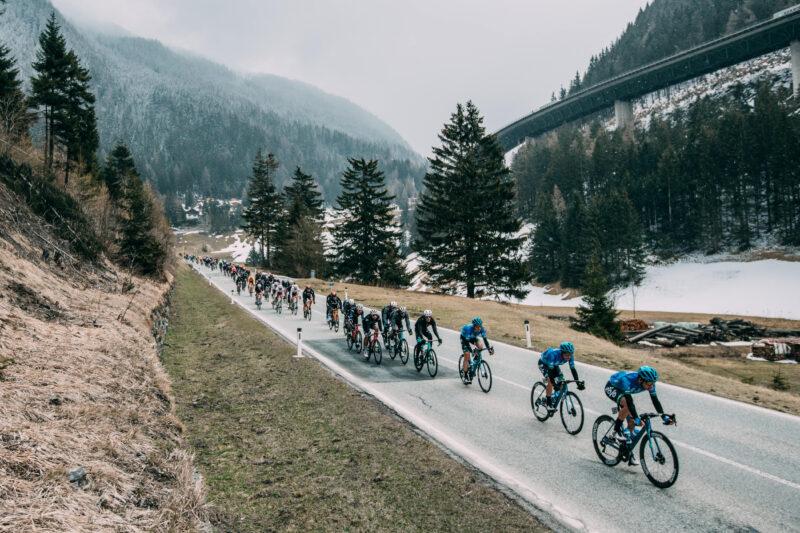 Monday April 19 2021 45th Tour of the Alps (2.Pro) Stage 1: Brixen - Innsbruck (140.6km)  Photo: Francesco Rachello / Tornanti.cc