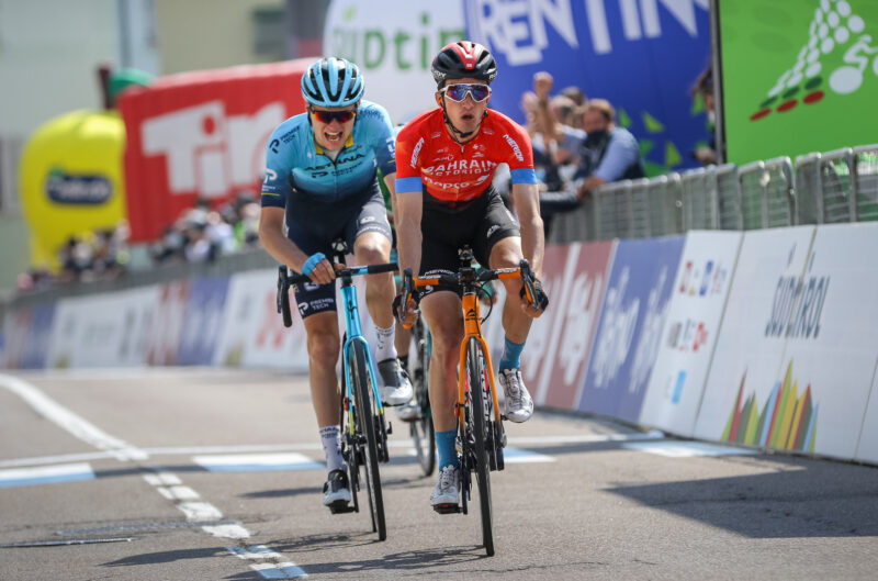 Bilbao celebrates in Valle del Chiese, Yates one stage away from final success